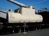 Музей железнодорожной техники. Цистерна двухосная для перевозки нефтепродуктов №247-002, начало XX века