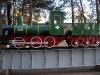 Музей железнодорожной техники в Барановичах. Макет паровоза серии B (масштаб 1:2)