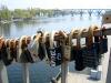 Набережная В.И. Ленина. Мост влюбленных