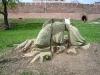 Новгородский кремль. Деревянные скульптуры