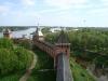 Новгородский кремль. Вид с башни Кокуй на Княжую, Спасскую и Дворцовую башни
