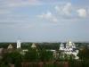 Новгородский кремль. Вид с башни Кокуй на Софийский собор и звонницу