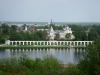 Новгородский кремль. Вид с башни Кокуй на Ярославово дворище