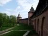 Новгородский кремль. Княжая и Спасская башни