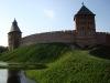 Новгородский кремль. Спасская и Дворцовая башни