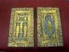 Новгородский музей. Золотая кладовая. Оклады Евангелий, XIII век