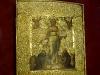 Новгородский музей. Золотая кладовая. Икона Спас Смоленский, XVII век