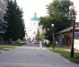 Омск. Вид на Крестовоздвиженский Собор