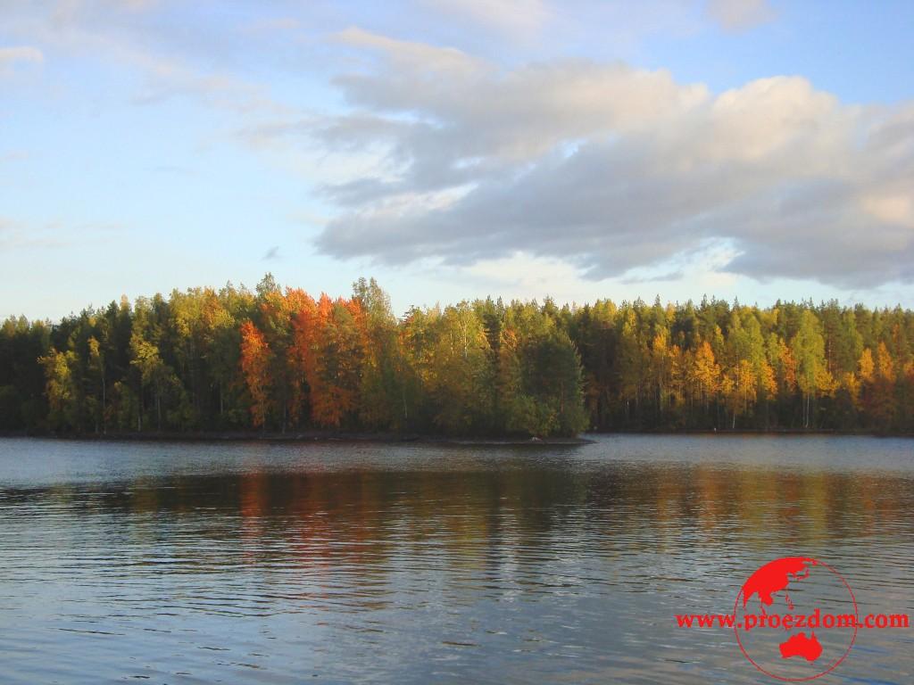 карелия озеро сандал рыбалка