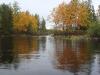 Озеро Сандал. Осенние краски