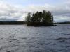 Озеро Сандал. Остров