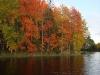 Озеро Сандал. Этюд в багровых тонах