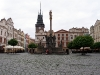 Пардубице. Главная площадь и Зеленая Брама