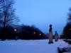 Парк Победы. Центральная аллея