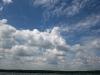 Печенежское водохранилище. Небо