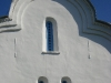 Перынский скит. Окна-бойницы в церкви