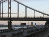 Пешеходный мост. Вид с набережной.
