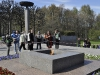 Пискаревское мемориальное кладбище. Вечный огонь