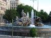 Площадь Сибелес. Фонтан Кибелы
