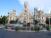 Площадь Сибелес. Дворец телекоммуникаций и фонтан Кибелы