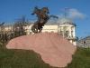 Рязанский Кремль. Памятник Евпатию Коловрату