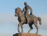 Рязанский Кремль. Памятник князю Олегу Рязанскому