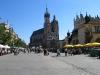 Рыночная площадь в Кракове. Мариацкий костел