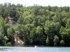 Река Северский Донец. Обрывистый берег