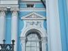 Смольный собор. Лепной декор на фасаде