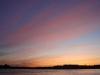 Смольный собор. Вид с берега Невы в белые ночи
