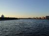 Смольный собор. Вид на Неву с моста Петра Великого