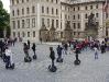 Собор Святого Вита. Площадь у Парадных ворот в Пражский град