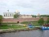 Софийская звонница. Вид с реки Волхов