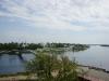 Софийская звонница. Вид на реку Волхов