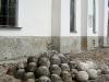 Софийский собор. Каменные ядра