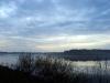 Водохранилище на реке Сума. На закате
