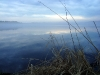 Водохранилище на реке Сума. В тумане