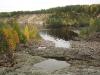 Водопад Гирвас пересохшее русло