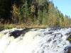 Водопад Кивач широкая часть
