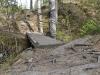 Мостик к водопаду на реке Тохмайоки