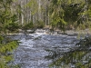 Пороги над водопадом на реке Тохмайоки