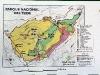 Вулкан Тейде. Карта заповедника