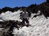 Вулкан Тейде. Снег у вершины