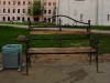 Ярославово Дворище. скамейка в парке