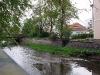Замок Частоловице. Река у стен замка