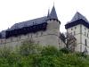 Замок Карлштейн. Имераторский дворец с Круглой башней и Большая башня