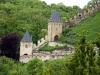 Замок Карлштейн. Входные ворота и башня Урсулка