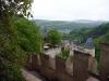Замок Карлштейн. Крепостные стены