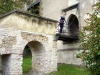Замок Карлштейн. Висячий мост