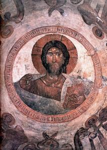 freska feofana greka 213x300 Церковь Спаса Преображения на Ильине